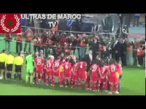 Finale Raja vs Bayern 21/12/13 Tifo & ambiance magana & les buts