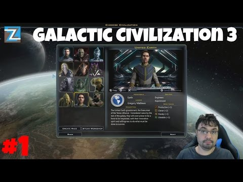 Galactic Civilization 3: Mercenaries - United Earth [1] português / vamos jogar
