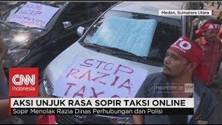 Driver Taksi Online Kembali Demo Keputusan Permenhub