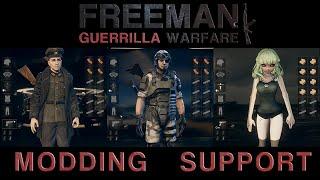 Freeman: Guerrilla Warfare Modding Support Announcement