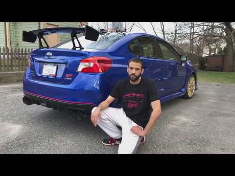 My Type-RA Gets A New Exhaust. Cat-Back Step By Step Removal & Install 2015+ WRX STI & Type-RA