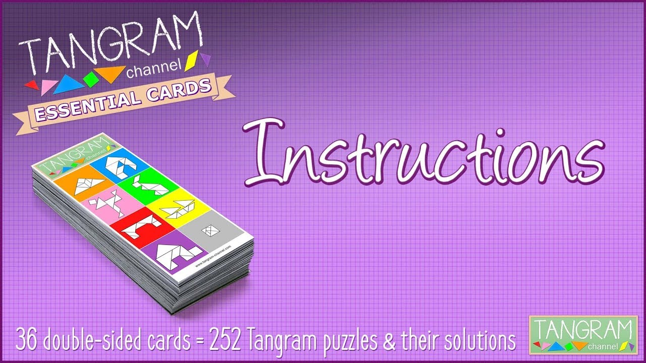 hight resolution of Hundreds of tangram puzzles to solve - Providing teachers and pupils with  tangram activities