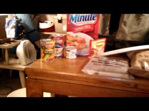 basic emergency food preparation