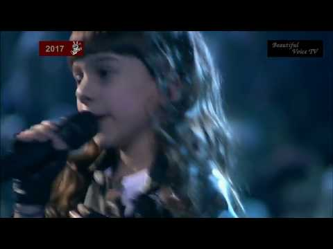 Eva. 'I Was Made for Lovin' You'. Finale - The Voice Kids Russia 2017.