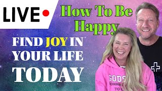 How To Be Happy & Find Joy In Life | Announcements | Q & A Time