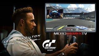 Gran Turismo Sport - Dragon Trail Seaside (Diamond Lap) - Lewis Hamilton Challenge w/ Steering Wheel