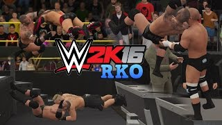 WWE 2K16 - Randy Orton RKO Compilation!