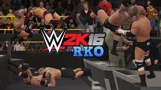 WWE 2K16 - Randy Orton RKO Compilation!