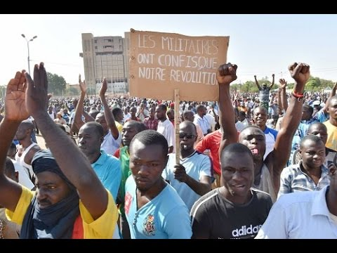 Thousands protest against post-coup army rule in Burkina Faso