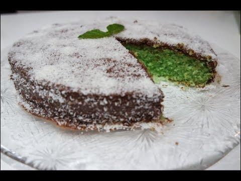 Muffin menta cocco e nutella