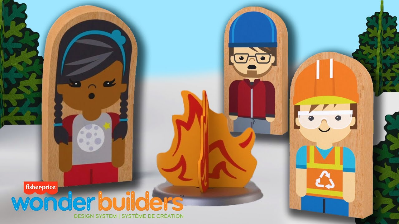 Wonder Makers™ - Camping Song + more | Cartoons For Kids | Fisher-Price