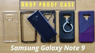 Best Drop Proof Case for Samsung Galaxy Note 9 (Ringke, Spigen, SupCase)