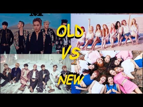 Old Generation VS New Generation KPOP Groups
