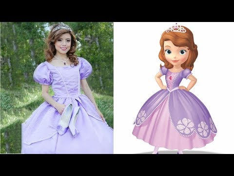 Sofia The First In Real Life -Misa Cartoons