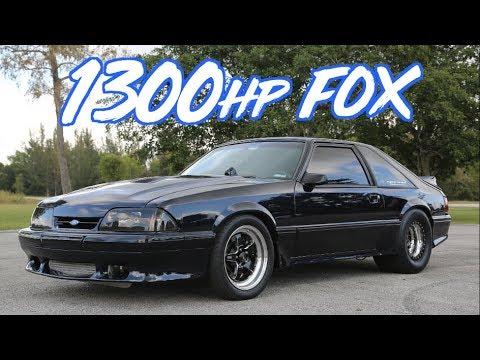 Fox Body Mustang >> 1300hp Fox Body Mustang Cleanest We Ve Ever Seen