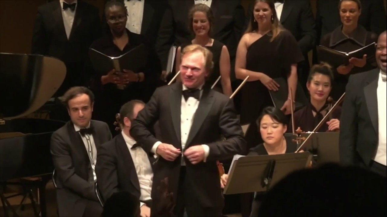 "Choral version of Gershwin's ""Rhapsody in Blue"" arranged and performed by Michael Fennelly"