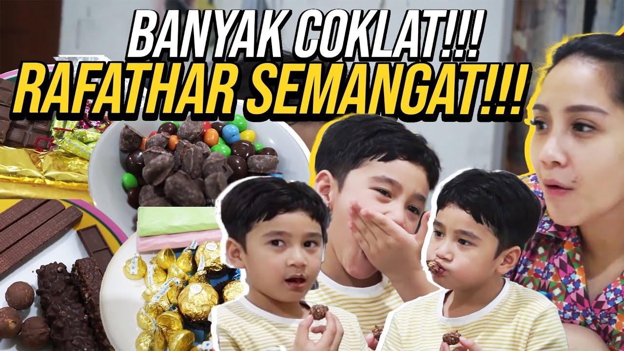 Download NAGITA TEMENIN RAFATHAR MAKAN COKLAT!!