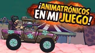 ¡ANIMATRÓNICOS EN MI JUEGO! - HACKER EVIL #YouTurbo | iTownGamePlay