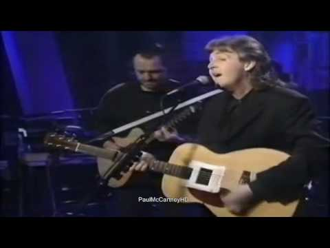 Paul McCartney - Michelle [HD] Up Close 1992