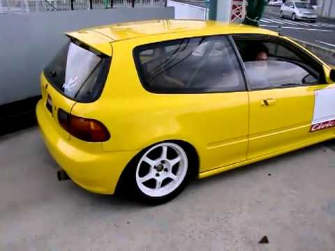 Jdm eg HONDA CIVIC *Spoon yellow* B18