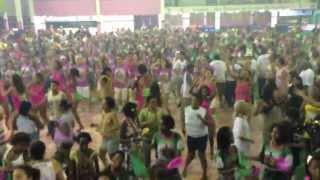 Mangueira Ensaio Geral SCHOOL OF SAMBA CARNAVAL 2013 RIO DE JANEIRO BRAZIL