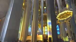 Барселона, Храм Святого Семейства (Саграда Фамилиа). Внутреннее убранство(Барселона, Храм Святого Семейства (Саграда Фамилиа), 2015-08-02T14:52:52.000Z)