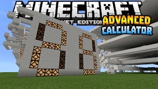 ADVANCED CALCULATOR in MCPE!!! - 0.14.0 Redstone Creation - Minecraft PE (Pocket Edition)
