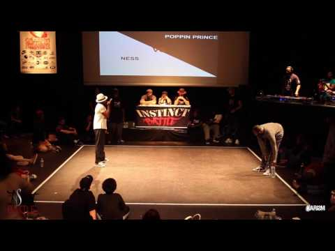 Instinct Battle 2017   Finale Pop   Ness Vs Poppin Prince