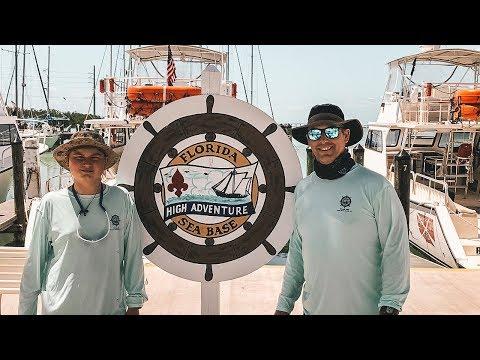 Sailing the Florida Keys with Florida Sea Base