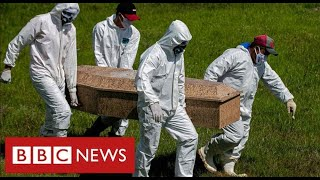 Brazil battling deadly new Covid variant and world's second-highest mortality rates - BBC News