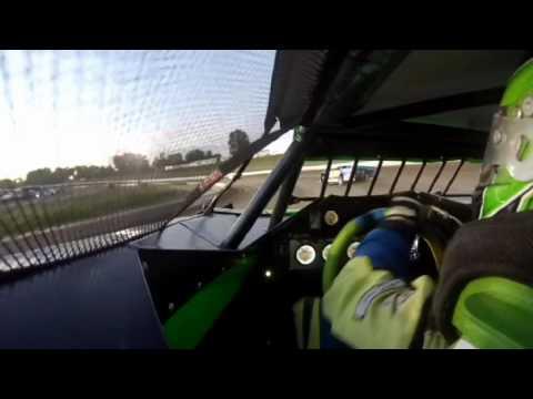 7/29/2016 Black Hills Speedway heat race (inside)