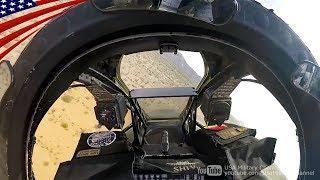A-10のガトリングガン掃射&アクロバット飛行【コックピット映像】 thumbnail