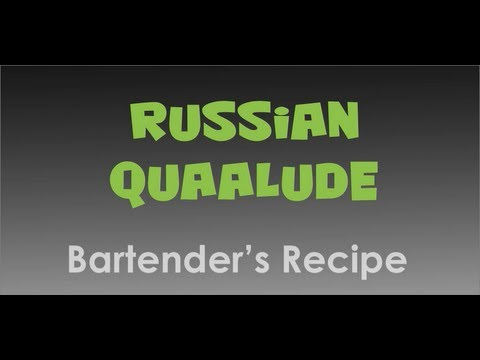 how to make a quaalude drink