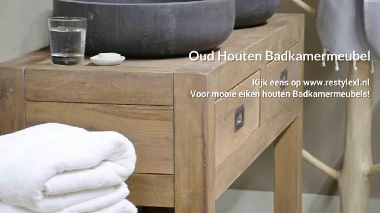 Eiken houten keuken   restyle xl maakt uw eiken houten keuken op ...