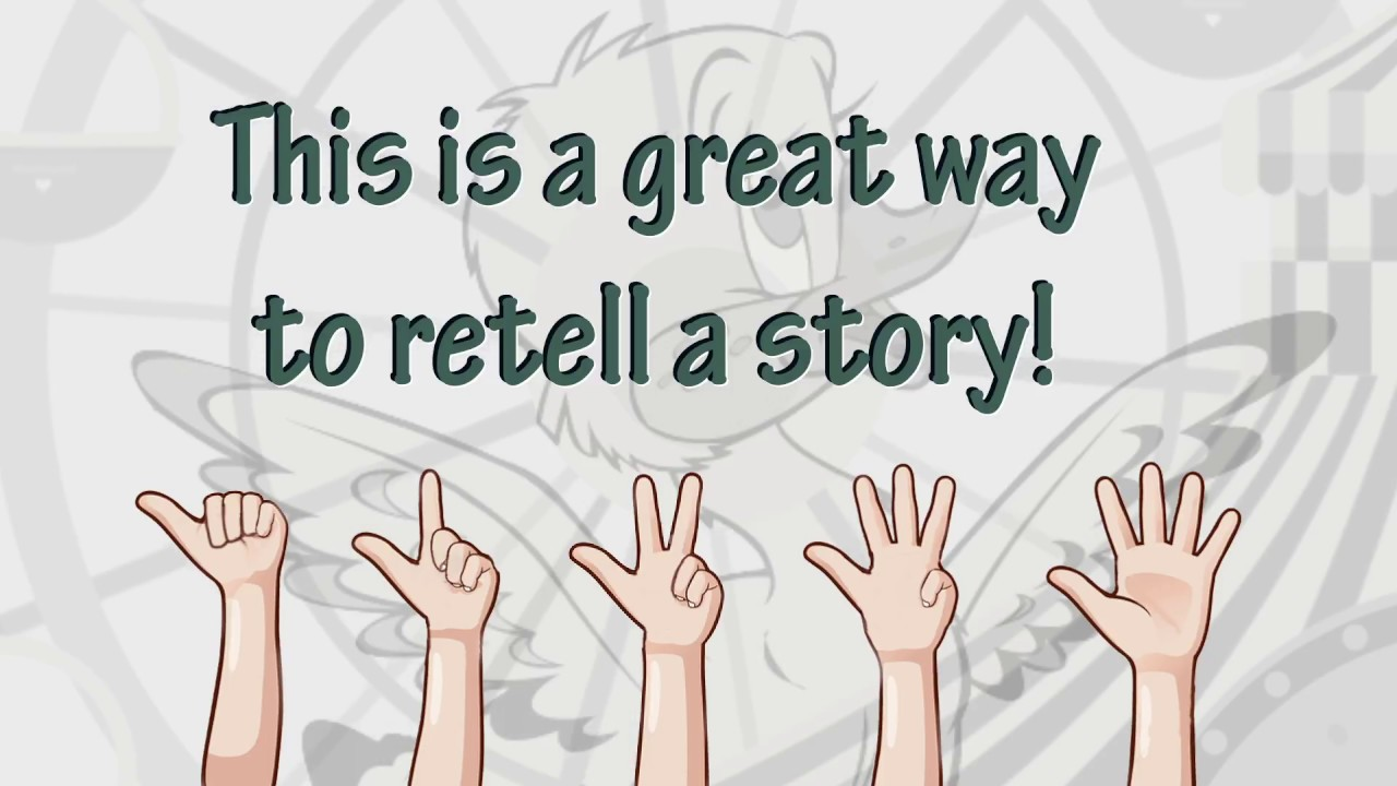 5 Finger Retell   Teach Your Child to Retell A Story [ 720 x 1280 Pixel ]