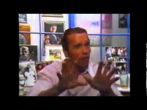Arnold Schwarzenegger (Raw Deal) Behind the screen