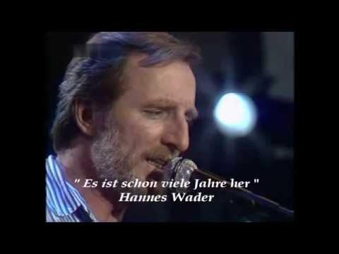 Hannes Wader - Es ist schon viele Jahre her