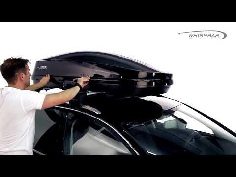   MyRack   WHISPBAR WB751 400L 亮白 車頂行李箱 置物箱 車頂箱 車用露營箱