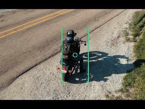 MOTORCYCLE TRACKING | DJI SPARK ACTIVE TRACKING