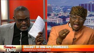 Imo APC Primaries Fallout: Asimobi, Ekechi Give Divergent Accounts Pt.1 |Sunrise Daily|