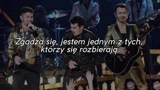 Marshmello x Jonas Brothers - Leave Before You Love Me [TŁUMACZENIE PL]