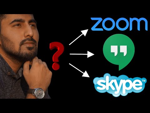 Zoom Vs Skype Vs Hangouts | The Best Video Conference Software