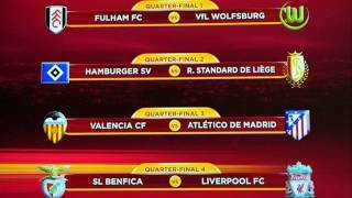 UEFA Europa League Draw UEFA Europa League Quarterfinal and Semifinal Draw