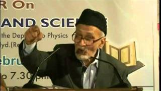 Seminar on Holy Quran and Science - Part 2 - Urdu Speech, Islam Ahmadiyyat