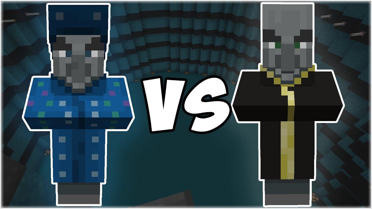 Illusioner vs Evoker - Minecraft Mob Battle