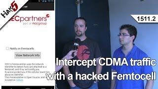 Intercept CDMA traffic with a hacked Femtocell, Hak5 1511.2
