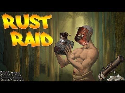 TR  Rust  Raid 4  Tuvalete girmek için kapıları roketledik. Troll Base  c=