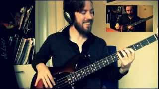Your Smiling Face (James Taylor) - Bass Cover by Maarten Bakker