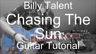 Billy Talent: Chasing the sun (GUITAR TUTORIAL/LESSON#94)