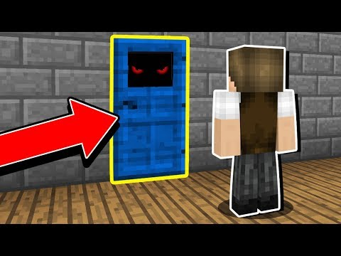 Minecraft: TODA VEZ QUE VOCÊ ABRE ESSA PORTA, ALGO DIFERENTE ACONTECE!